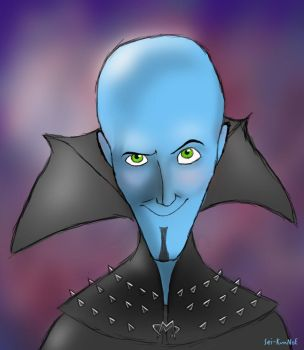 Megamind-the uncreative title by Sei-KunNoE