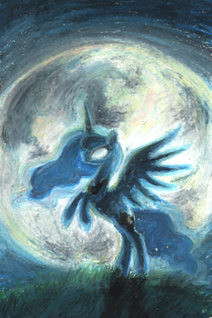 Rising the moon by ButterSprinkle