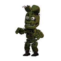 Springtrap Accurate by YinyangGio1987