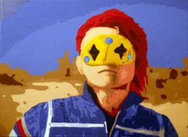 Party Poison painting by shadowlovinfanbunny
