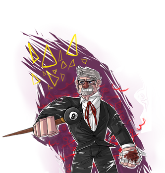 Ayyyy its Grunkle Stannnn by Whispering-forests