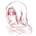 Itachi Uchiha Sketch by The-Ly