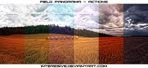 Field Panorama - Actions by interesive