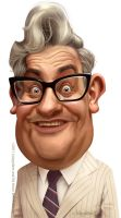 Ronnie Barker by Loopydave