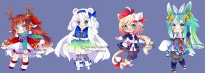 Collab Adopts Auction (CLOSE) by SelenaMustang