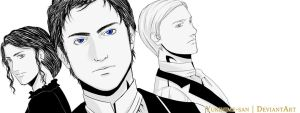 The Infernal Devices Trio by yukihime-san