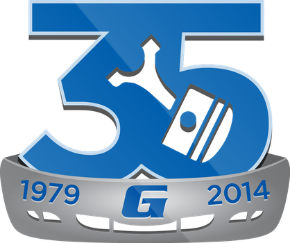 Gary's U-Pull It 35th Anniversary Logo by Garconis
