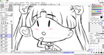 Sailor Moon Chibi WIP by OtterBreeze