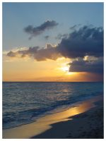 Dominican Republic Sunset by undergrn
