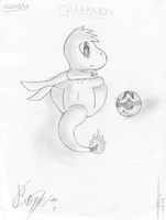 Charmander-Lonely S by Sc0t1n4t0r