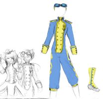 Wonderbolts Flightsuit by Kittywitchthesecond