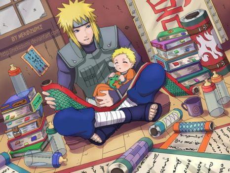 NARUTO - YONDY n BABY by Jennaris