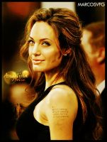 Angelina Jolie by MARCOSVFG