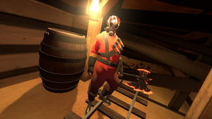 Poseing Pyro? by noodley