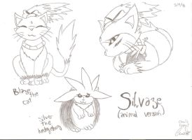 Silvaze-Animal version by Runnie-the-cheetah