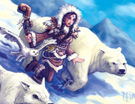 Arctic Druid by AlvinHew