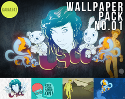 Wallpapers pack no.01 by kaiga747