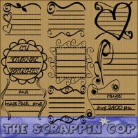 Doodle Journal Brushes by debh945