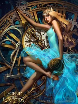 Clock tower goddess Tara_reg by Tsvetka