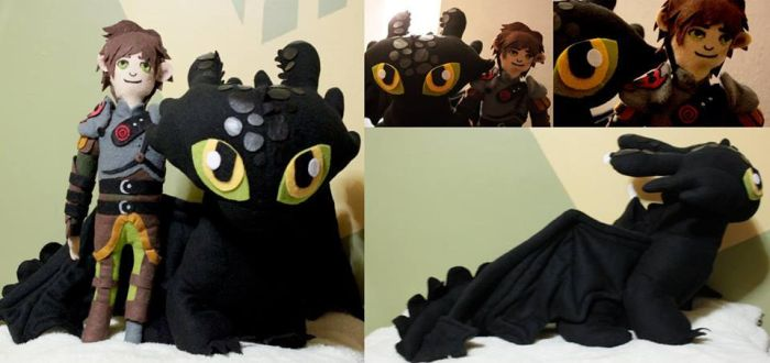 Hiccup and toothless- How to train your dragon 2 by lecheypan