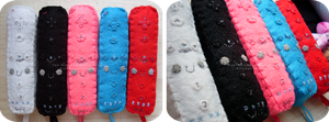 Wii Controller Plushies by Kitty-Sprinkles
