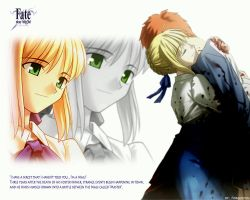 Fate Wallpaper 2 by F0RG0TTEN by Fate-Stay-Night