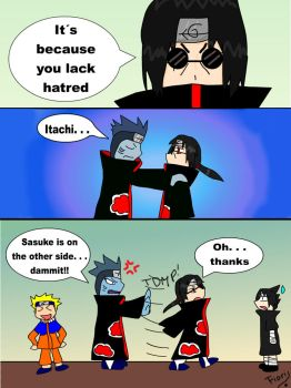 Blind Itachi by fiori-party