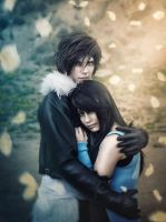 Squall and Rinoa (By Rebeca Saray) by Aerien-Designs