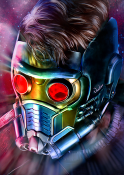 Star-Lord (Peter Quill) by junkome
