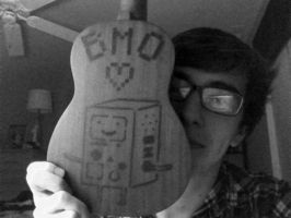 Beemo and my uke by bdorn