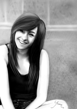 Christina Grimmie by oliviaseulement