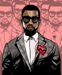 Kanye West by geereezy