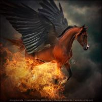 HEE Horse Avatar - RMA Pheonix Flying by art-equine
