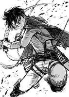 Levi Rivaille by TheMerthyrRiot