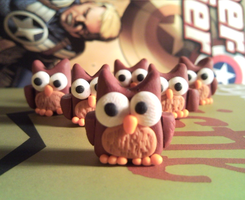 An army of owls is still an army by WhispMI21