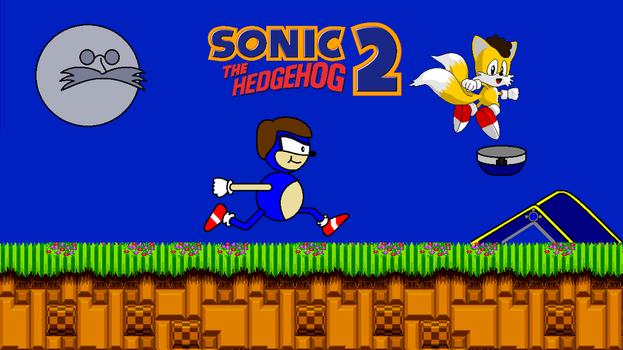 Sonic the Hedgehog 2 Title Screen by FreeNintendo21