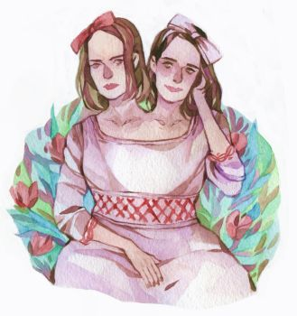 Bette and Dot by DaryaSpace