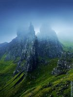 The Blue Mountains by Nelleke