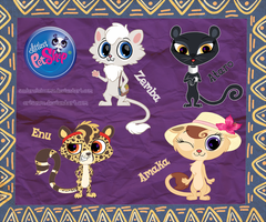 LPS adopts [African pack. 1] Closed. by LisaOrise