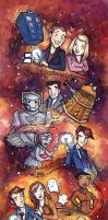 Doctor Who 9th-10th by CorinneRoberts
