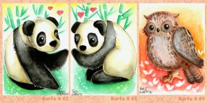 ACEO Return Of Sweet Cuddly by Tacaret