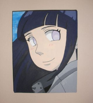 Hinata paint by Quel-chan