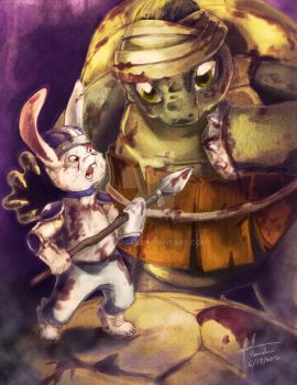 Tortoise and the Hare by Hamabear