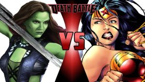 Gamora vs. Wonder Woman by OmnicidalClown1992