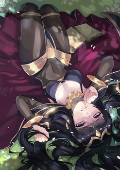 Commission Patreon - Tharja Fire Emblem by AlpacaCarlesi
