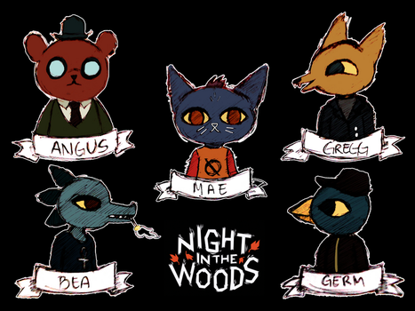 NITW Characters by Shenjie-chan1998