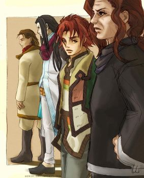 Suikoden: Strategists by azmin