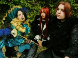 MALICE MIZER COSPLAY GROUP by asrundream