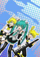 Japan Rock And Play Vocaloid by MarisaArtist