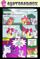 Sister Talk by Japple-Ack
